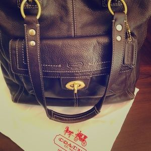 ❤️SALE Authentic Coach Leather Bag❤️